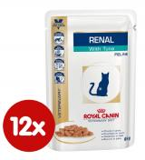 Royal Canin Veterinary Diet Cat Renal Tuna Pouch 12x85 g