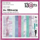 Sada papírů 15x15cm - 13 arts - Art Journey 24pcs   99141