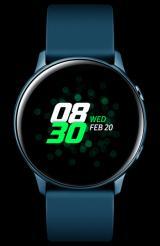 Samsung Galaxy Watch Active, Zelená  - Rozbaleno