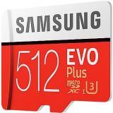 Samsung MicroSDXC 512GB EVO Plus UHS-I U3   SD adaptér