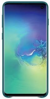 Samsung Ochranný kryt Leather Cover pro Galaxy S10 EF-VG973LGEGWW - zelený - zánovní