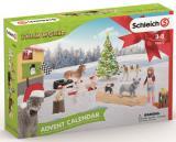 Schleich Adventní Kalendář 2019 - Domácí Zvířata