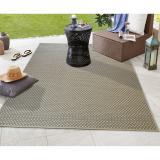 Šedý koberec vhodný i na ven Floorita Pallino Grey, 130 x 190 cm