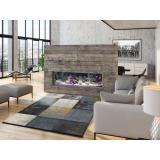 Šedý koberec vhodný i na ven Universal Adra Azulo, 190 x 280 cm