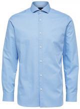 SELECTED HOMME Pánská košile Regsel-Jay Shirt Ls Dobby B Noos Light Blue S