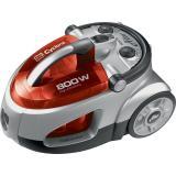 Sencor SVC 730RD-EUE2 bezsáčkový vysavač, červená,