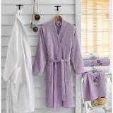 Set 2 bavlněných županů a 4 ručníků Lily
