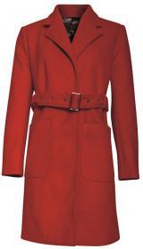 Smashed Lemon Dámský kabát Red 18779 XL
