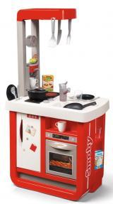 Smoby Kuchyňka Bon Appetit elektronická, červeno-bílá