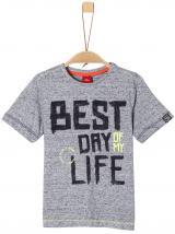 s.Oliver chlapecké tričko 116 - 122 šedá