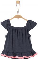 s.Oliver dívčí tričko 116 - 122 modrá