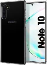Spigen Ochranný kryt Liquid Crystal pro Samsung Galaxy Note 10 628CS27370, transparentní