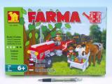 Stavebnice dromader 28505 farma 215 dílků