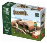 Stavějte z cihel psí bouda stavebnice brick trick v krabici…