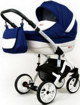 Sun Baby Kombinovaný kočárek 3v1 Raf-pol Lilly sailor blue - rozbaleno