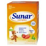 SUNAR Complex 4 Jahoda Pokračovací batolecí mlék od 24 měsíců 600 g