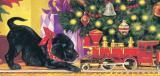 Sunsout Puzzle 1000 Dílků Christopher Nick - Puppy Standoff