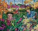 Sunsout Puzzle 1000 Dílků Susan Brabeau - Orchids With Mantis