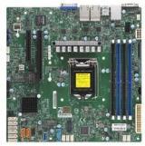 SUPERMICRO MB 1xLGA1151 , C246, 4xDDR4, 8xSATA3, 2x M.2, 2xPCIe3.0 x8, VGA, 4x LAN, IPMI, MBD-X11SCH-LN4F-O