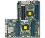 SUPERMICRO MB 2xLGA2011-3, iC612 16x DDR4 ECC,10xSATA3,,2x1GbE LAN, 2x PCI-E 3.0 NVMe x4,IPMI, MBD-X10DRW-N-O