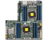SUPERMICRO MB 2xLGA2011-3, iC612 16x DDR4 ECC,10xSATA3,,2x LAN,IPMI, MBD-X10DRW-i-O