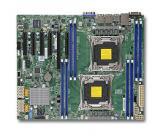 SUPERMICRO MB 2xLGA2011-3, iC612 8x DDR4 ECC,10xSATA3,,2x LAN,IPMI, MBD-X10DRL-i-O