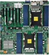 SUPERMICRO MB 2xLGA3647, iC621, 16x DDR4 ECC, 14xSATA3, 2xNVMe, 1xM.2, PCI-E 3.0/4,2,2x LAN,IPMI, MBD-X11DPi-N-O
