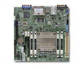 SUPERMICRO miniITX MB Atom C2550 4-core , 4x DDR3 ECC SODIMM, 2xSATA3, 4xSATA2,1xPCI-E x8, 4xLAN, IPMI, MBD-A1SAI-2550F-O