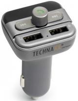 Technaxx Fm Transmitter   mp3 Přehrávač   Bluetooth, Lcd Display  4594