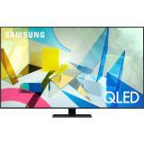 Televize Samsung QE55Q80TA stříbrná