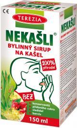TEREZIA NEKAŠLI 100% přírodní bylinný sirup 150ml,TEREZIA NEKAŠLI 100% přírodní bylinný sirup 150ml