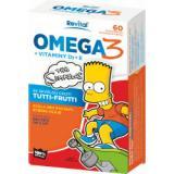 The Simpsons Omega 3   vitaminy D a E 60 kapslí