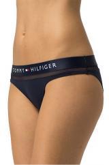 Tommy Hilfiger Dámské kalhotky Sheer Flex Cotton Bikini UW0UW00022-416 Navy Blazer XS