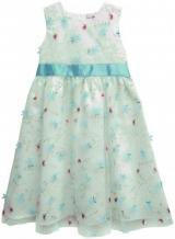 Topo dívčí šaty se stuhou 104 bílá