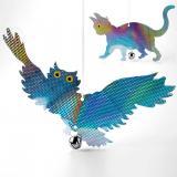Toro Plašič ptáků Sova a kočka