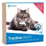 Tractive Cat GPS lokátor se sledováním aktivit IKATI - bílý