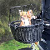 Trixie košík na kolo černý - D 50 x Š 35  x V 41 cm