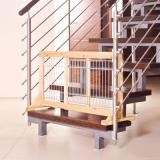 Trixie mřížová zábrana pro psy - výška 50 cm, šířka 63 až 108 cm