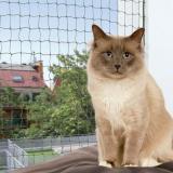 Trixie ochranná síť pro kočky - olivová - 4 x 3 m