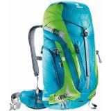Turistický batoh DEUTER ACT Trail PRO 34 modro-zelená