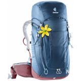 Turistický batoh DEUTER Trail Pro 34 SL midnight-maron