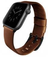 Uniq Mondain Kožený Řemínek Apple Watch 44/42mm Sepia, Uniq-44mm-Monbwn