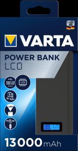 Varta LCD Power Bank 13000 mAh 57971101111 - rozbaleno