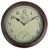 Venkovní nástěnné hodiny s teploměrem Ego Dekor Time