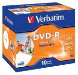 Verbatim DVD-R AZO 4,7GB, 16× printable jewel 10k