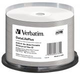 Verbatim DVD-R DataLifePlus 4.7GB, 16x, printable, waterproof, spindle 50 ks