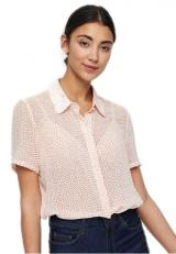 Vero Moda Dámská košile Dotty SS Shirt WVN Pristine XS