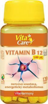 VitaHarmony Vitamin B12 okamžitý účinek 120 tablet,VitaHarmony Vitamin B12 okamžitý účinek 120 tablet