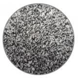 Vopi koberce Kruhový koberec Apollo Soft šedý,   Ø 80 Šedá - Vrácení do 1 roku ZDARMA