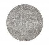 Vopi koberce Kruhový koberec Apollo Soft světle šedý - 80x80 kruh cm Šedá